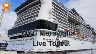 MSC Meraviglia Live Tour New Year's Eve Cruise 2018 @CruisesandTravelsBlog thumbnail