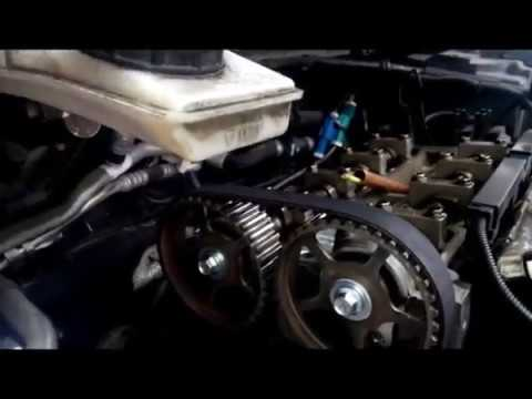 Ford focus 2005 timing belt replacement - YouTube