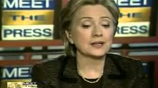 In 2008, Clinton Said She Wanted