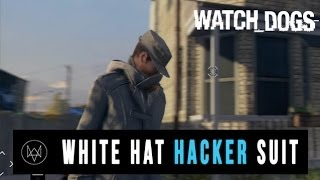 Watch Dogs - Free White Hat Hacker Outfit Gameplay (Exclusive PS3, PS4)