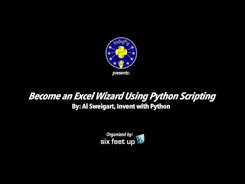 """Become an Excel Wizard Using Python Scripting"" by Al Sweigart"