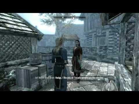 The Elders Scroll: Skyrim Maven Black-Briar warns Haelga