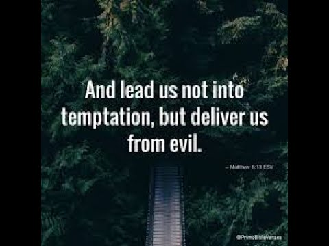 Lead us not into temptation....!