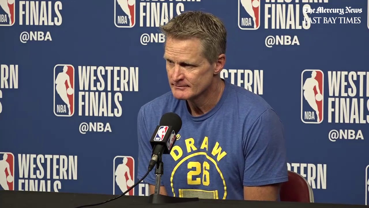 NBA Playoffs pregame: Kerr on Rockets' Chris Paul being out for Game 7