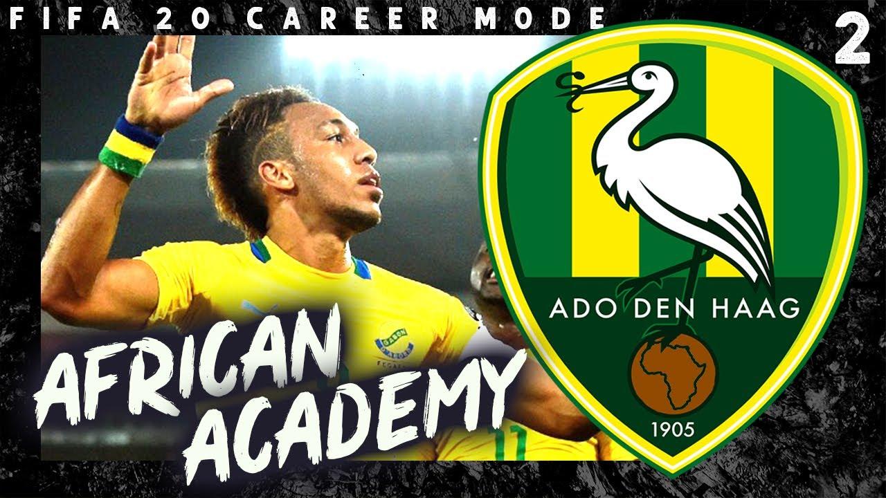 Fifa 20 African Academy Ado Den Haag Episode 2 Youtube