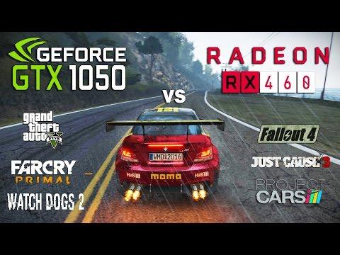 RX 460 vs GTX 1050 Test in 6 Games (i3 6100)