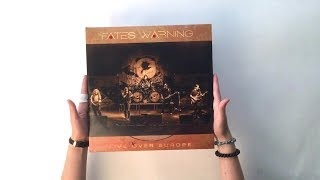 FATES WARNING - Live Over Europe (Unboxing)