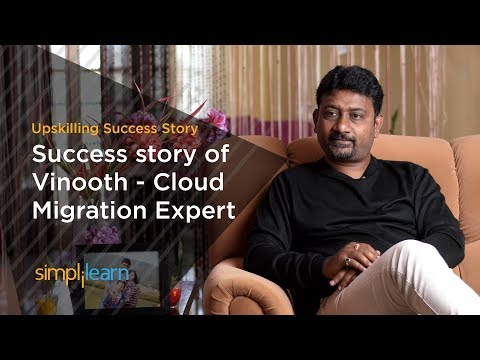AWS Solution Architect Certification | Success Story Of Vinooth | Simplilearn Reviews