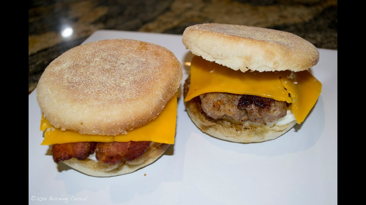 McDonald's Egg McMuffin - Recipe - YouTube