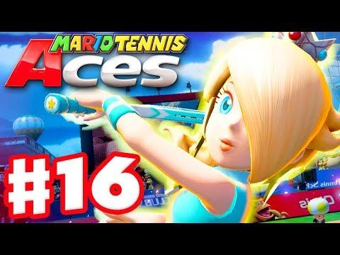 Mario Tennis Aces - Gameplay Walkthrough Part 16 - Rosalina! Online Tournament! (Nintendo Switch) - 동영상