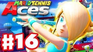 Mario Tennis Aces - Gameplay Walkthrough Part 16 - Rosalina! Online Tournament! (Nintendo Switch)