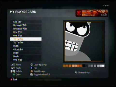 Good emblems w tutorial call of duty black ops youtube