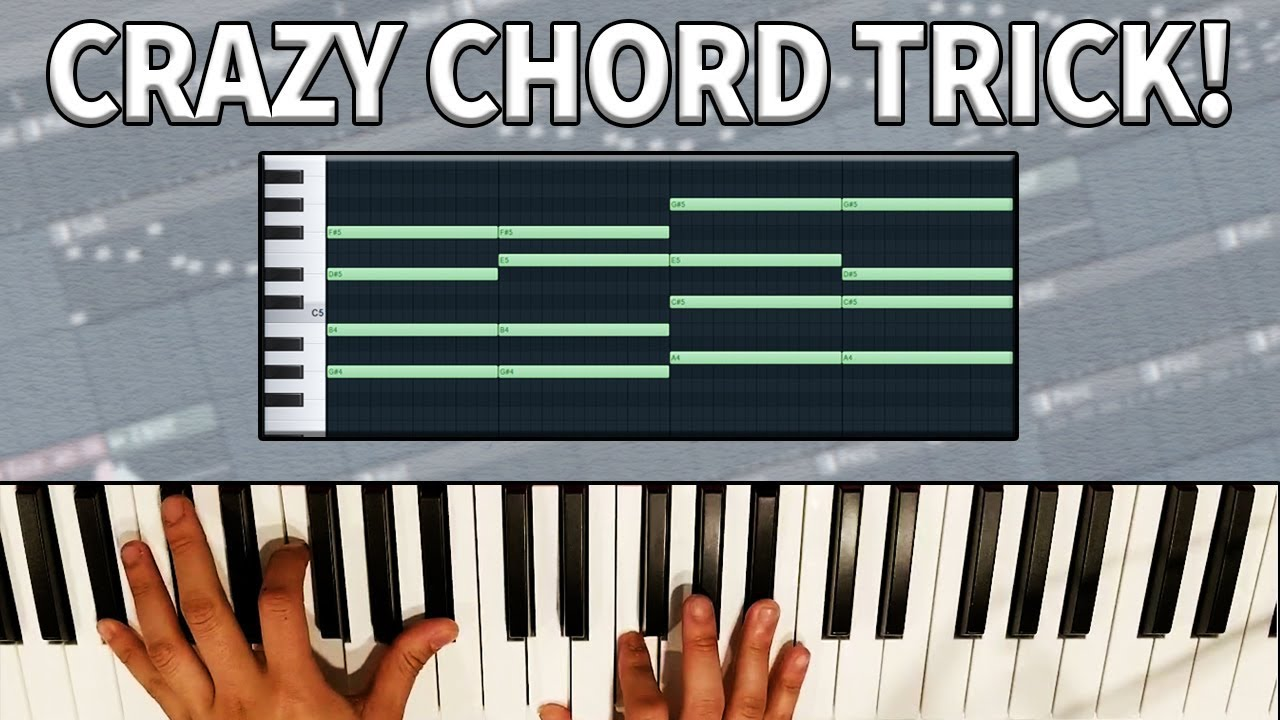 THIS CHORD TRICK WILL CHANGE YOUR LIFE! MAKING A BEAT IN FL STUDIO! #1