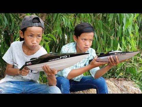 NERF GUN BOAT RC BATTLE SHOT 2