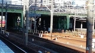 名鉄6800系6803F✙6500系6510F急行内海行金山3番線到着