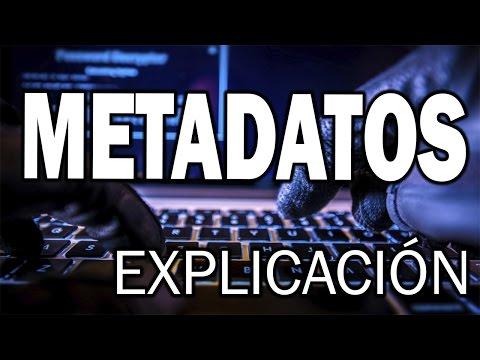 Metadatos / Metadata - Explicación y ejemplos