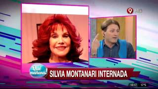 Silvia Montanari internada