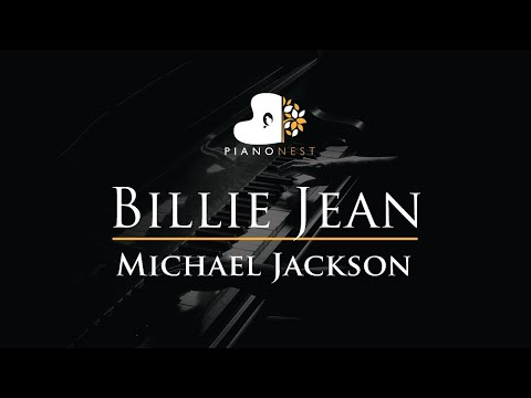 Michael Jackson - Billie Jean - Piano Karaoke Instrumental Cover with Lyrics