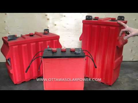 Off-grid Battery Choices