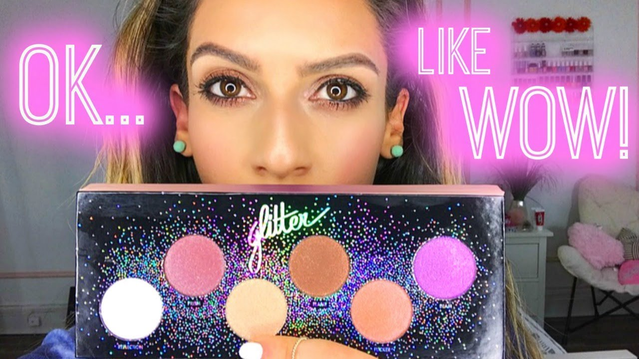 Makeup Forever STAR LIT GLITTER Palette ♡ My Thoughts!