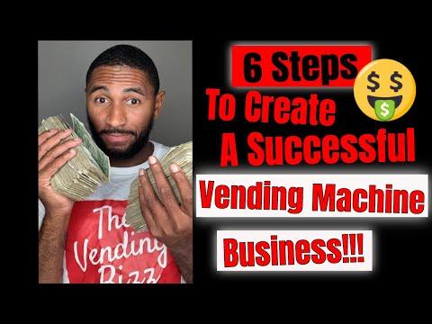 6 Steps To Create A Successful: Vending Machine Business