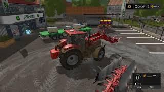 Farming simulator 17 Timelapse $1Billion farming only challenge ep#25