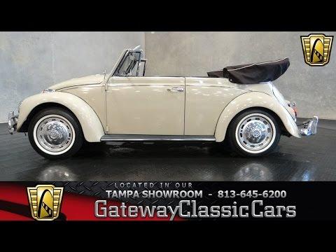 1967 Volkswagon Beetle Convertible