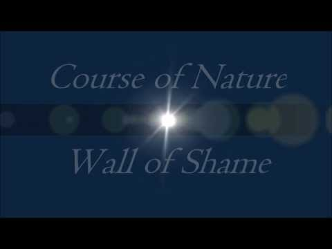 Course of Nature-Wall of Shame HD lyrics video