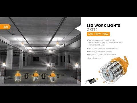 60w 100w 150w Led Work Lights Temporary Lighting