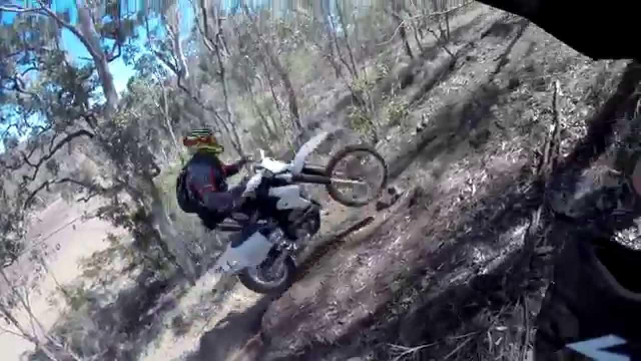 Gap Creek Farm Motorbike Park The Hill Climbs Youtube