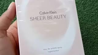 Calvin Klein Sheer Beauty Review (Malay)