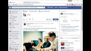 Rendre public un post Facebook
