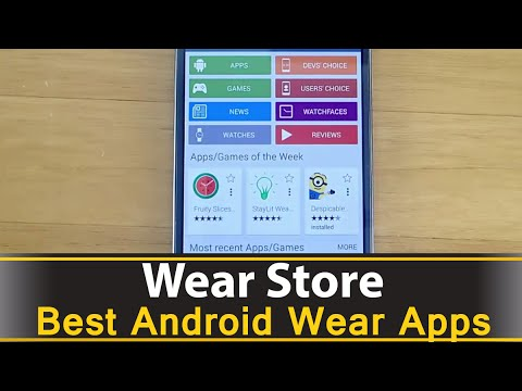 Wear Store - Best Android Wear Apps Series