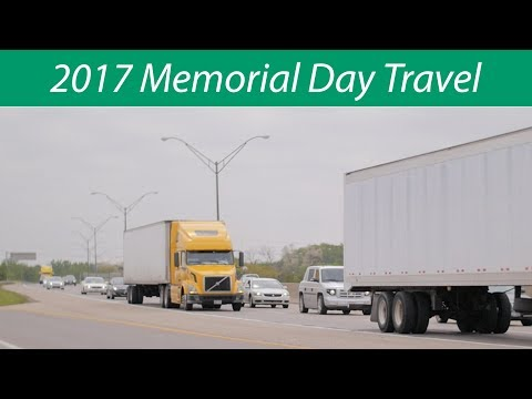 2017 Memorial Day Holiday Travel