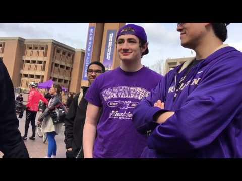 ANTIFA Protest University of Washington