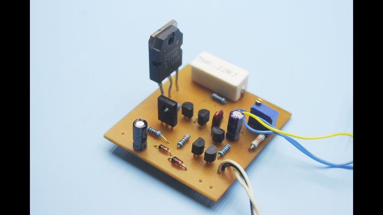 Diy Excellent Adjustable Power Supply 0 35v 3a Youtube How To Build Simple Voltage Source