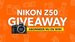 WIN DE NIEUWE NIKON Z50! - Kamera Express