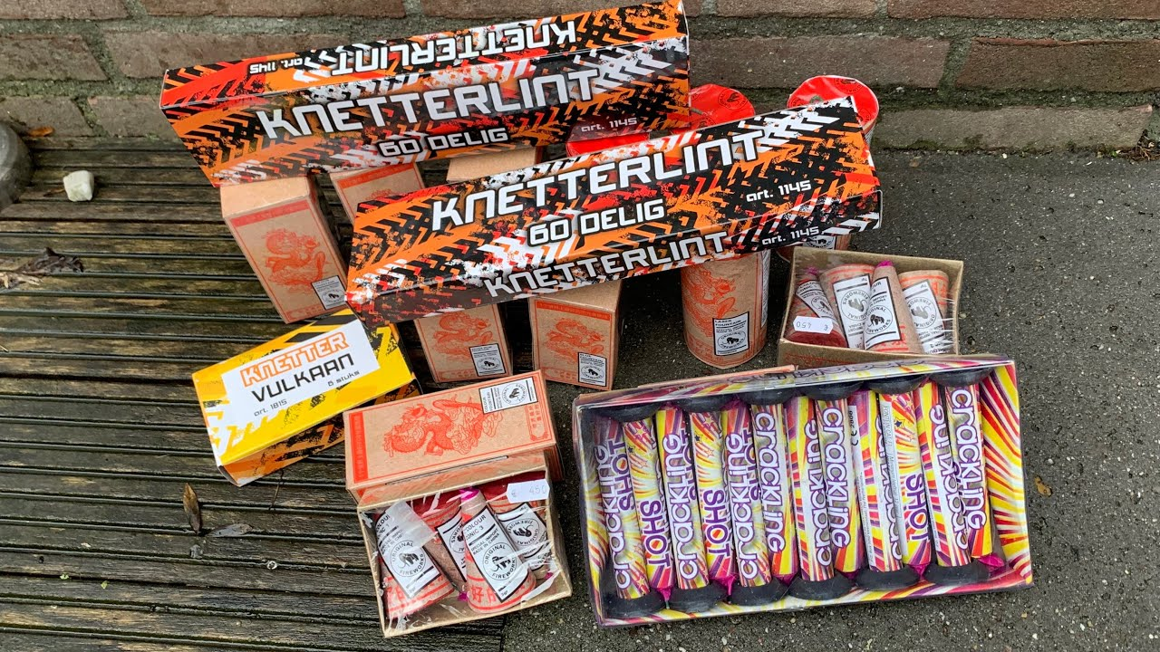 Lekker stoken met vuurwerk van Original Fireworks & GBV-Weco