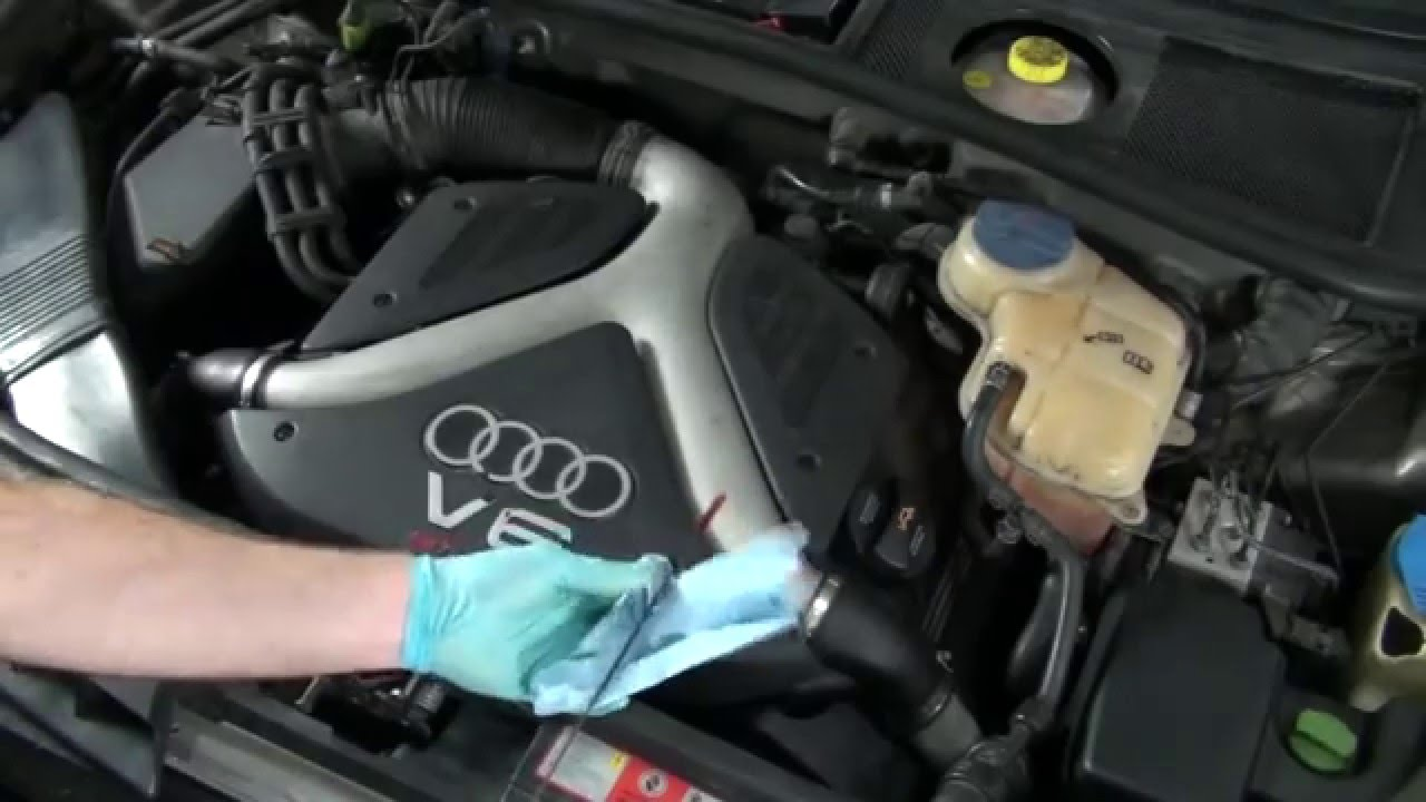 How To Change Audi A6 Oil Amp Filter 2 7t Youtube