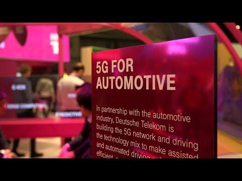 Social Media Post: Mit 5G kann die Deutsche Telekom automatisiertes Fahren noch...