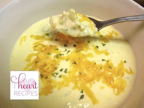 Homemade Broccoli And Cheddar Soup | I Heart Recipes