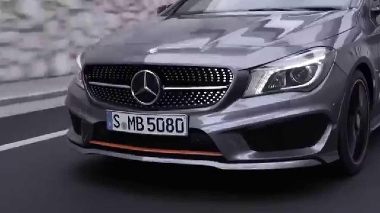2015 Mercedes-Benz CLA Shooting Brake Trailer - YouTube