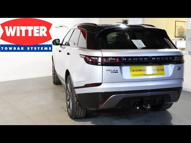 Range Rover Velar R-Dyanmic | Detachable Tow Bar