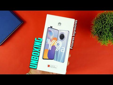 NUEVO Huawei Y9a Unboxing + Instalación de APPS | Tecnocat