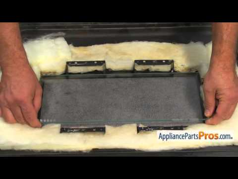 Range Inner Oven Door Glass (part #316088600) - How To Replace