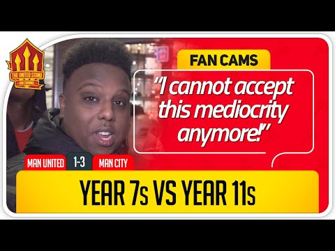 SAEED! GLAZERS OUT NOW! Manchester United 1-3 Manchester City Fan Cam