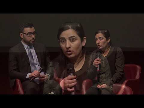 Farida Abbas Khalaf at Geneva Summit 2018