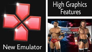 New Psp Emulator Red for Android for wwe SvR 11 play with high Graphics.