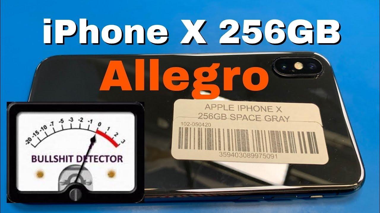 iPhone X powystawowy z Allegro - SPRAWDZAMY