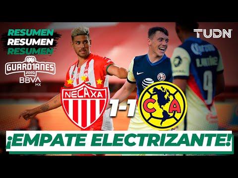 Resumen y goles | Necaxa 1-1 América | Guard1anes 2020 Liga BBVA MX - J3 |TUDN